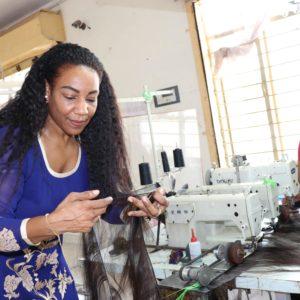 Alix Moore in India